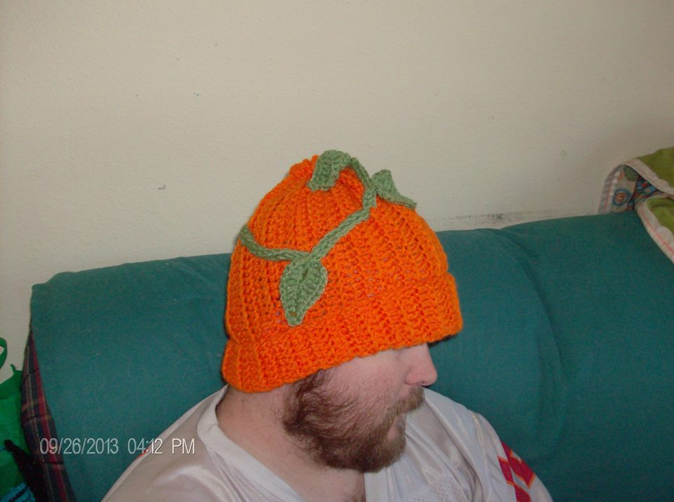 First Pumpkin Hat