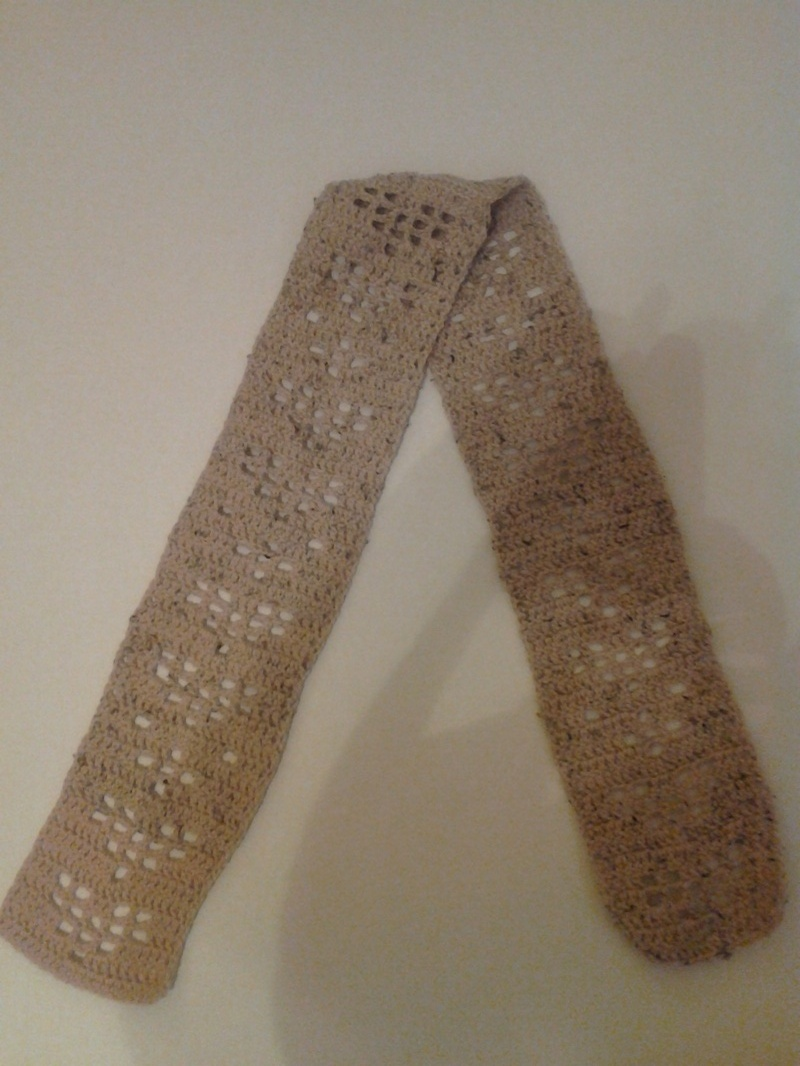 Shimmery Heart Scarf