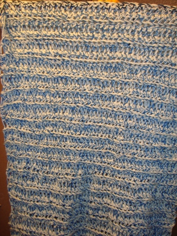 Finger Crocheted Lapghan